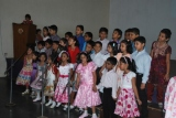 Students of Cl.1E sang 'I'd Like To Teach The World To Sing'