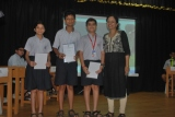 GK Quiz class 5 and 6  3rd place winners