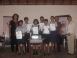 Winners of the Bournvita Quiz Competition