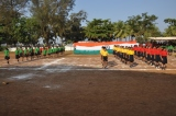 My Indian flag rocks an awesome performance by the young budding sportsmen