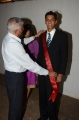 Grahit getting the sash from Our Administrator