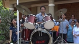 Rocking the Drums